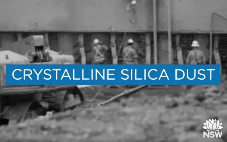Crystalline Silica Dust - SafeWork NSW Working safely with crystalline silica