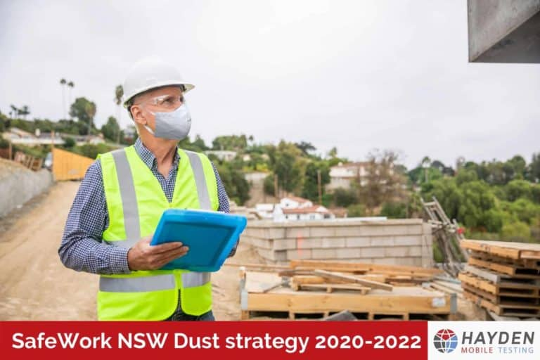 SafeWork NSW Dust Strategy 2020-2022 - Workplace Testing Service - Hayden Health & Safety