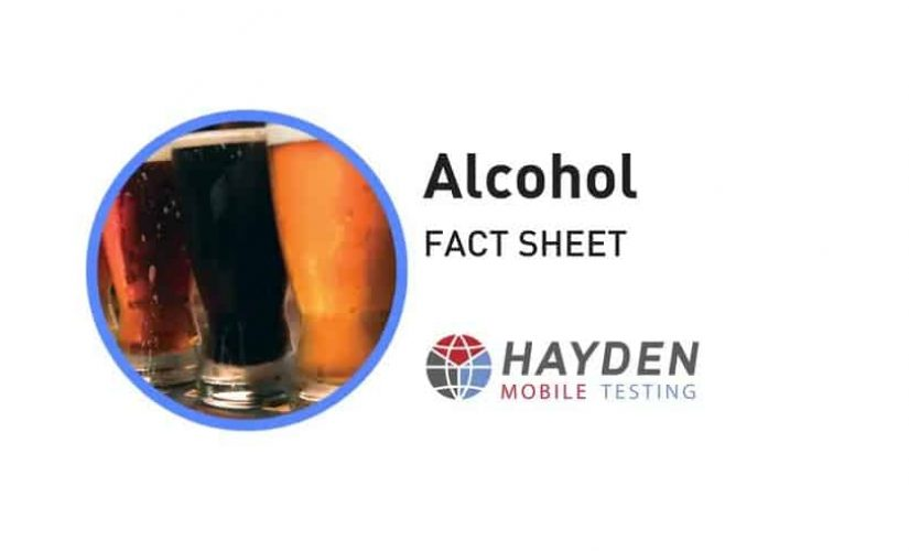 Alcohol Fact Sheet - Workplace Testing Service - Hayden Health & Safety